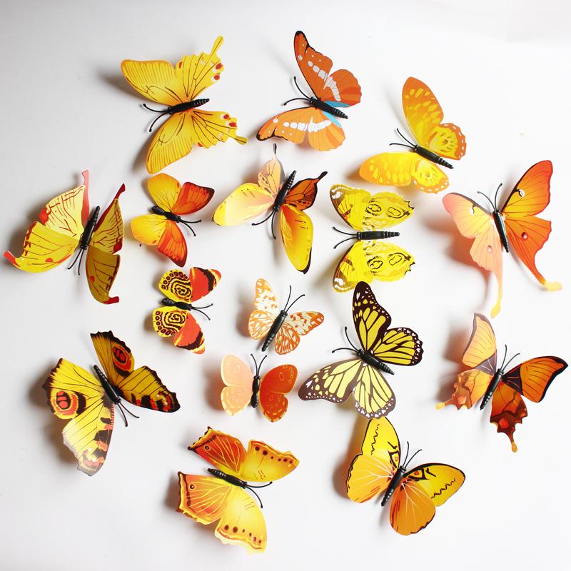 Exelent Decorative Wall Butterflies Embellishment - Wall Art Design ...