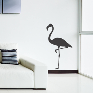 Flamingo väggklistermärke dekoration